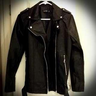 Glassons Black leather jacket