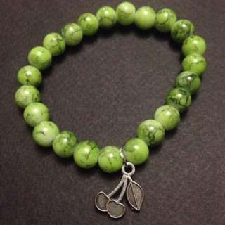 Apple Green Cherry Charm