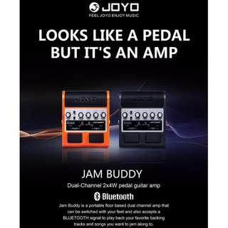 JOYO JAM BUDDY 雙通道 2x4W 藍芽音箱 吉他 效果器 (黑色) 免運