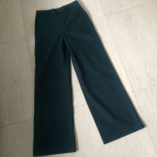 Uniqlo Wide Angle Pants