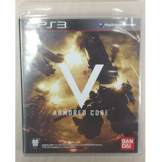 PS GAME ARMORED CORE V