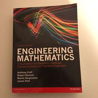 Engineering Mathematics 4e