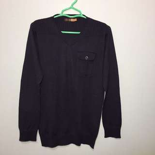 NEW Navy Sweater Size S