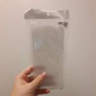 iPhone 6+ Transparent Phone Cover