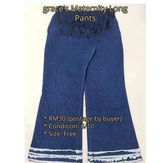 grace's Maternity Long Pants