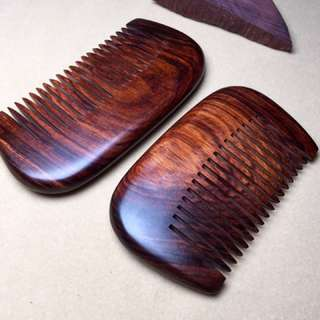 Hainanese Rosewood Comb
