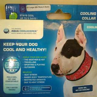 Cooling Pad Collar For Dogs.