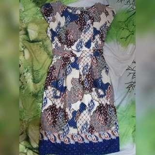 Mini Dress Batik