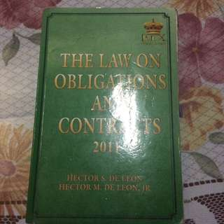 The Law On Obligations And Contracts
