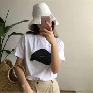 韓國 遮臉帽 漁夫帽