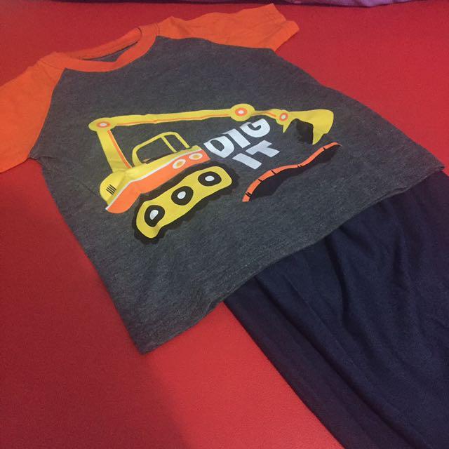 1 Set Pakaian Anak Laki2