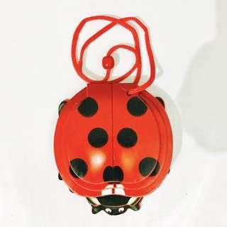 Ladybug Foam book necklace