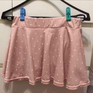 粉色短裙(s號)