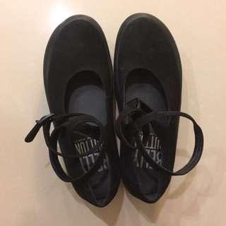 (含運)Tokyo Bopper 厚底綁帶鞋24號