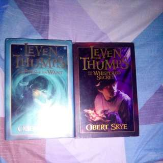 LEVEN THUMPS 2 BOOKS. BY OBERT SKYE