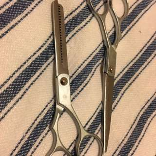 Scissors and trimming