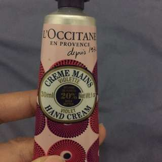 L'0ccitane hand Cream