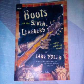 BOOTS AND THE SEVEN LEAGUERS by Jane Yolen
