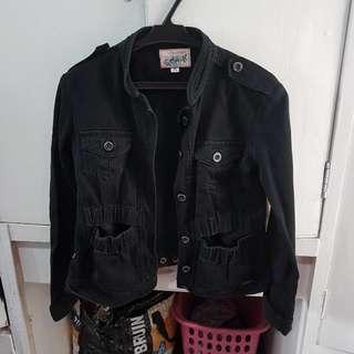 REPRICED! Penshoppe Black Jacket (Small)