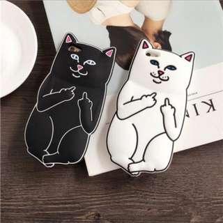 Galaxy J5/J2 PRIME  Black Bad Cat Case