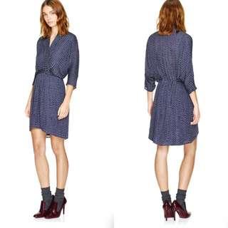$165 Aritzia Babaton 100% Silk Dress