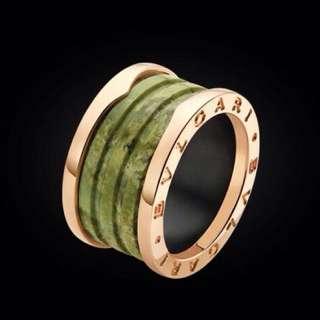 Cincin B01 Bvlgari Ceramic & Marbel