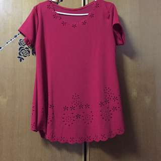 Ladies Blouse (red Color)