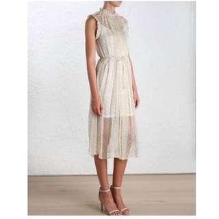 ZIMMERMANN Mischief Ruffle Dress - Size 0 - BNWT