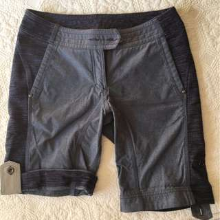 Lululemon Ride On Shorts Denim/Blue Sz 6