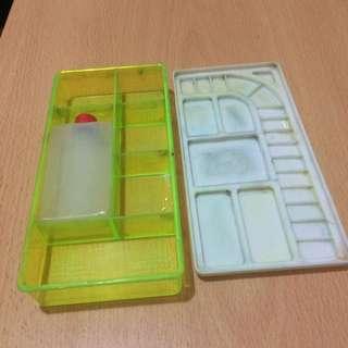 學生勞作用 水彩盒