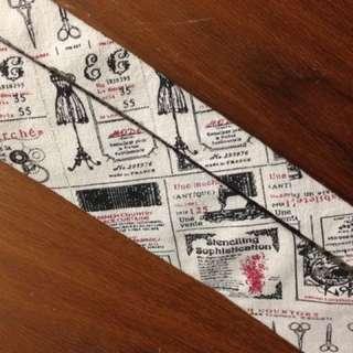 開髮廊必備裝飾物—紳士髮廊造型領帶