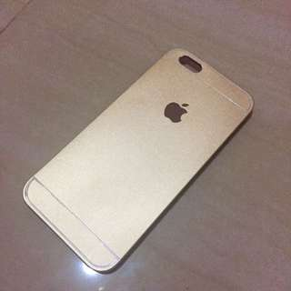 Metal Gold Case iPhone6