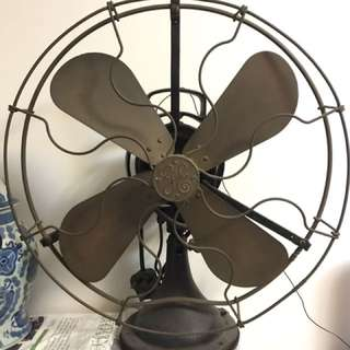 General Electric Antique Cooper Fan