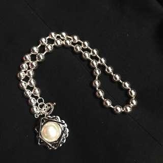 韓國珍珠頸鏈🔹易配撘