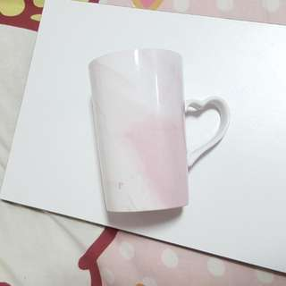 Pink Marble Cup