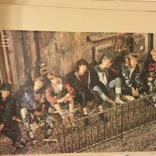 BTS OFFICIAL YNWA POSTER