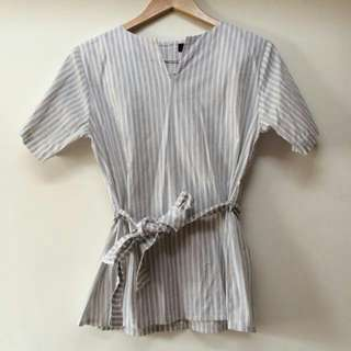 Kimono Stripe Blouse