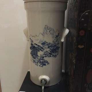 一對沙餾缸 Water Tank