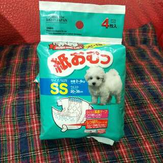 寵物尿布 尺寸ss共6片