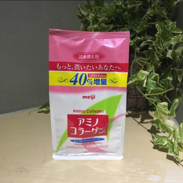 限時特賣—明治膠原蛋白粉-補充包42天份(300g/包)