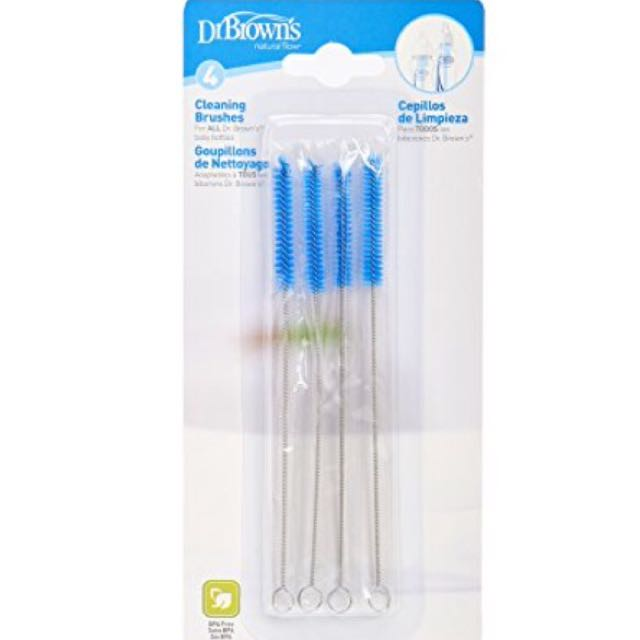 MothercareSale 50% 4 Pcs DR BROWN Cleaning Brushes