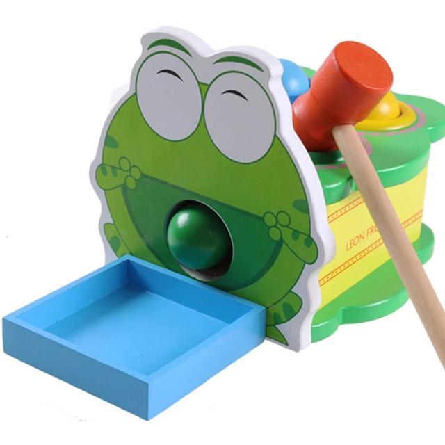 綠豆蛙敲球臺
