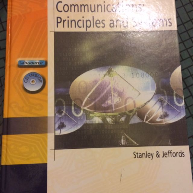 通訊導論 Electronic Communications: Principles and Systems by Stanley & Jeffords,  2005