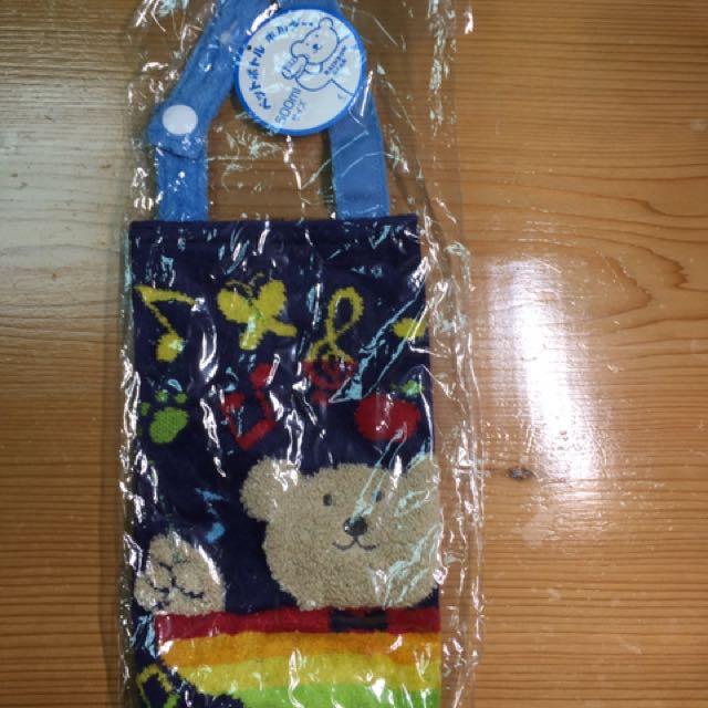 彩虹熊水壺袋