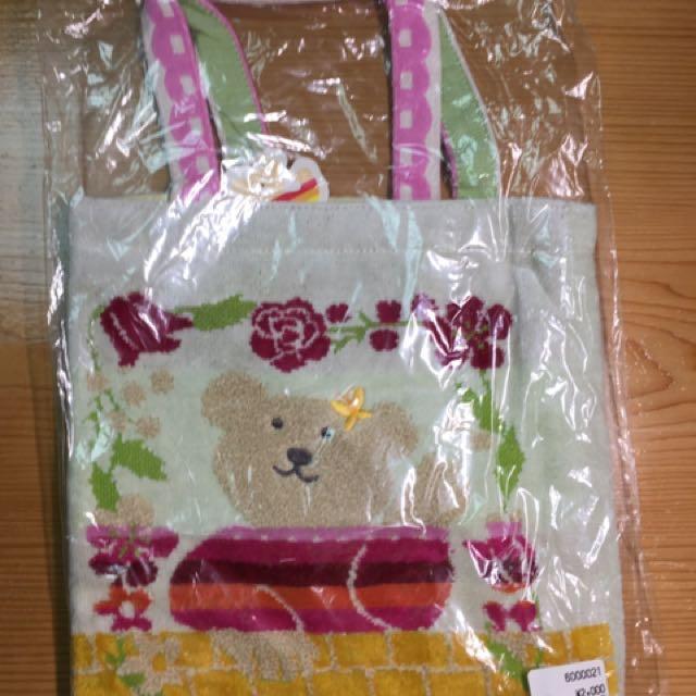 彩虹熊手提袋