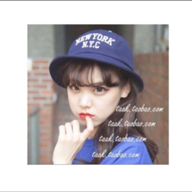 藍色漁夫帽