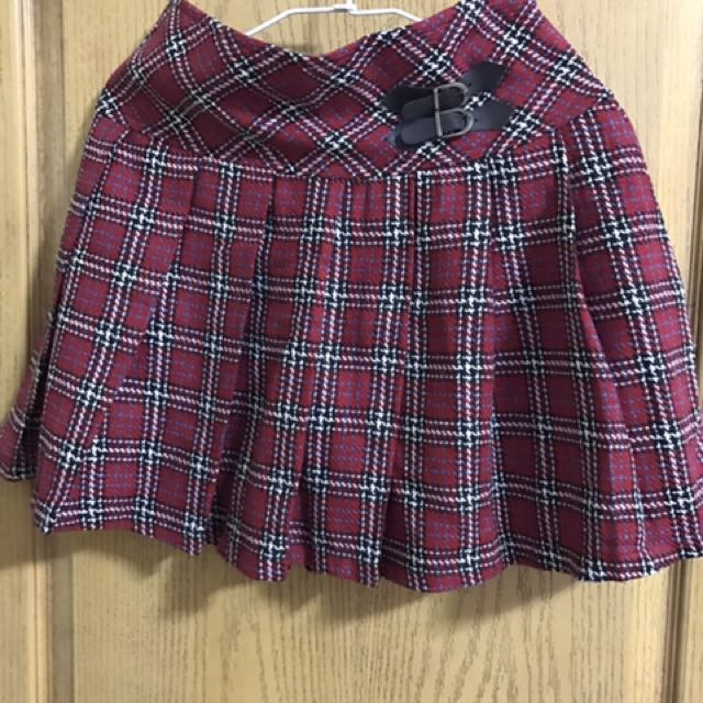 蘇格蘭格紋裙