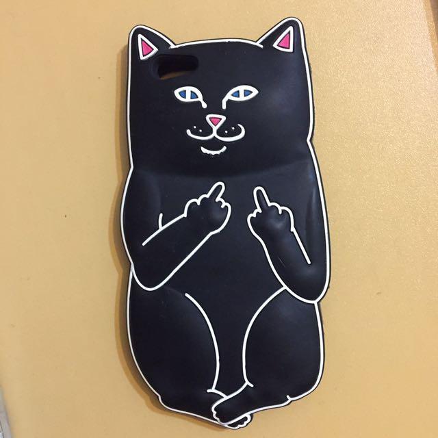 (含運)中指貓手機殼