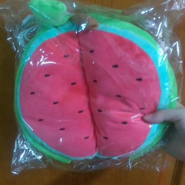 西瓜造型 溫暖滑鼠墊