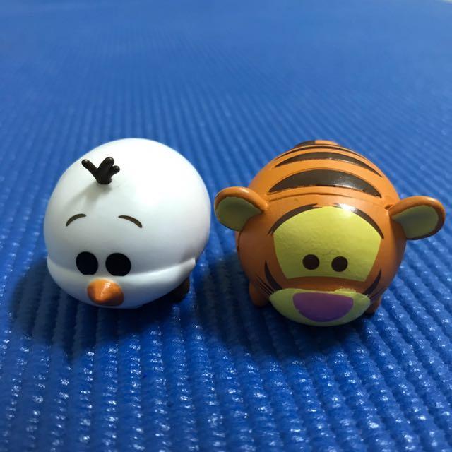 迪士尼磁鐵 雪寶 跳跳虎